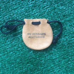 My husbands allowance gag gift funny present VTG